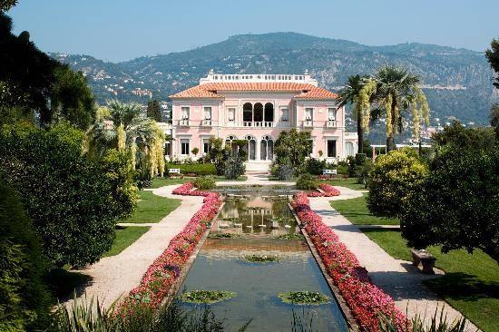 Villa et jardins ephrussi de rothschild a saint jean cap for Union de villa jardin concordia